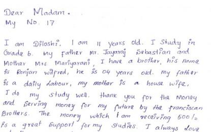 Fundación Gomaespuma: Carta desde Sri Lanka