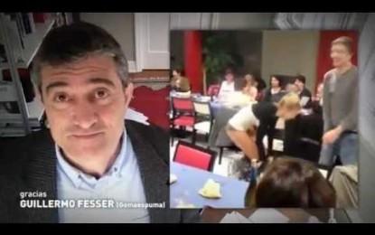 Guillermo felicita a elRellano.com y a su creador Toni Barragán en su aniversario