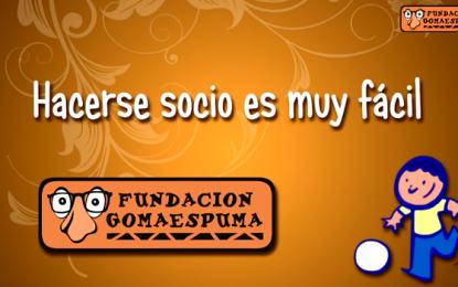 Hazte socio de la Fundación Gomaespuma
