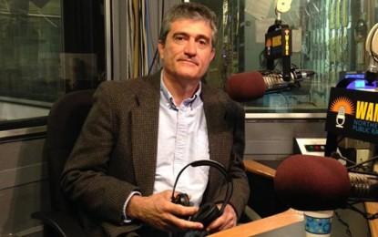 Guillermo en la Radio Pública Norteamericana