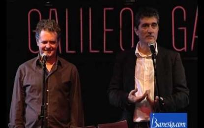 Juan Luis y Guillermo se meten a magos