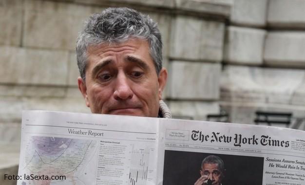 Guillermo Fesser cada semana en El Intermedio
